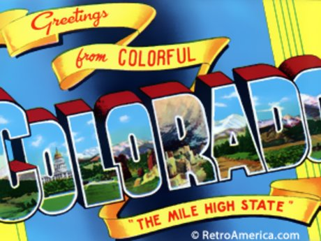 Postcard from Colorful Colorado