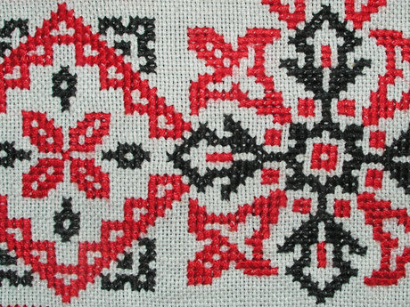 30 Minute Cross Stitching Lesson