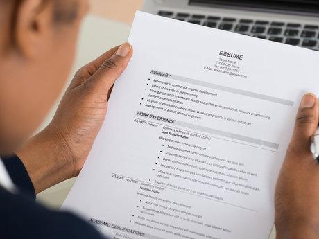 Resume critique & interview advice