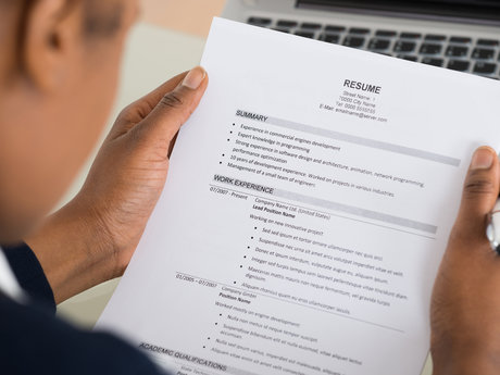 Interview and Resume Prep