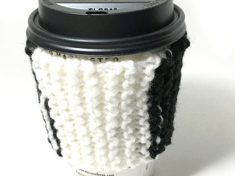 knitted To Go Cup Cozy