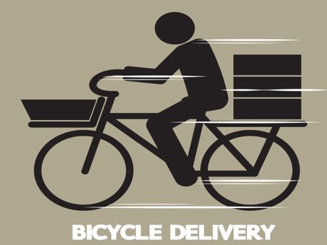 Light feet bicycle delivery