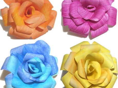 Handmade Paper Roses Lessons