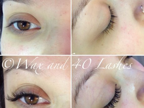 Full set of classic eyelash extensi