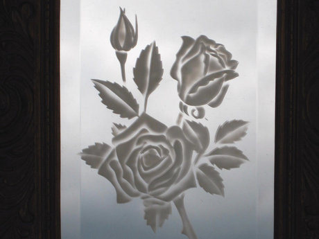 Glass etched mementos
