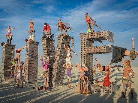 Acro yoga flier