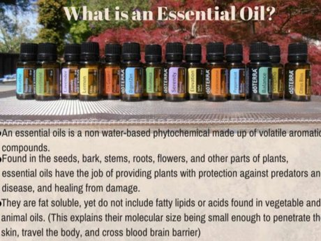 Essential oils consultation