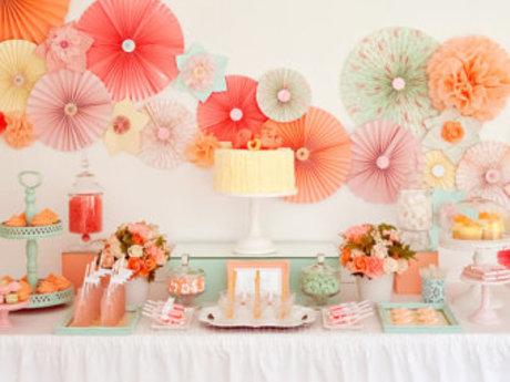 Handmade Party Décor & Diaper Cakes