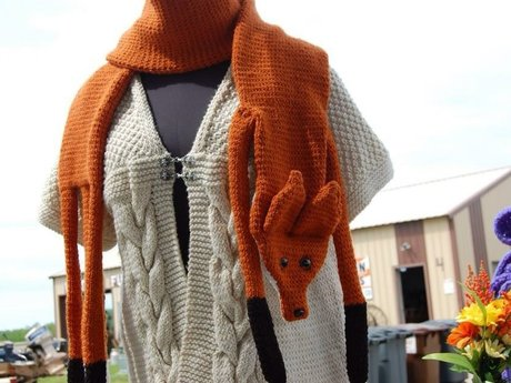 One-of-a-kind hand Knit or Crochet