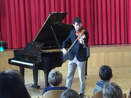 Violin or piano lessons