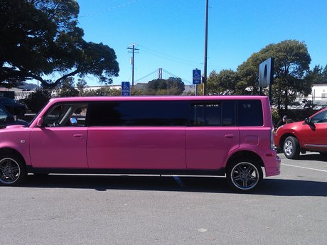 Unique Pink Limo