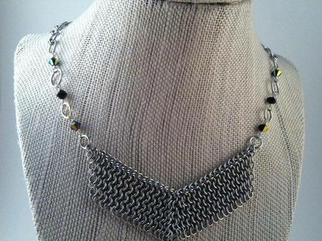 Beginner Chainmaille Jewelry Class