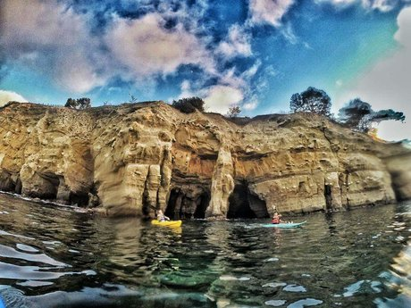 All-day kayak rental in San Diego