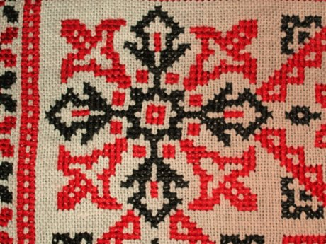 Learn counted cross-stitch