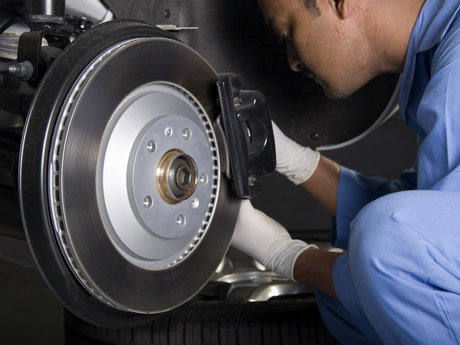 Brakes, suspension, engine repair