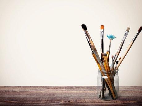 Painting, drawing, design, logos