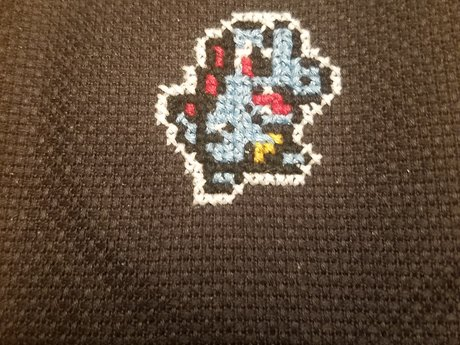 Small Cross Stitch Patch