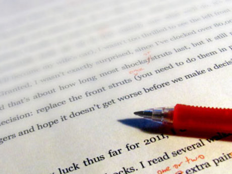 Reading, editing, critiquing