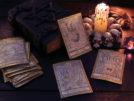 Virtual Tarot Card reading