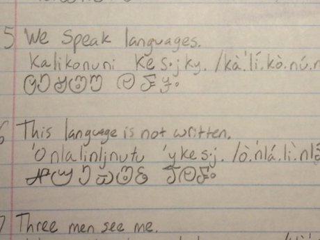 Secret language and writing system