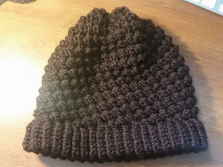 A knitted hat of your choice
