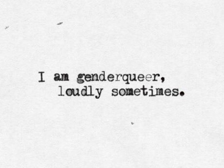 Ask this Genderqueer, ANYTHING! :D