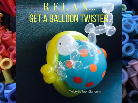 3 Balloon Animals Made for You