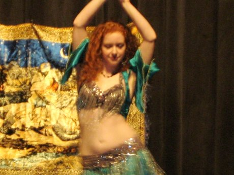 45 Minute Belly Dancing Lesson