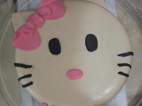 Fondant Cake Decorating Lesson