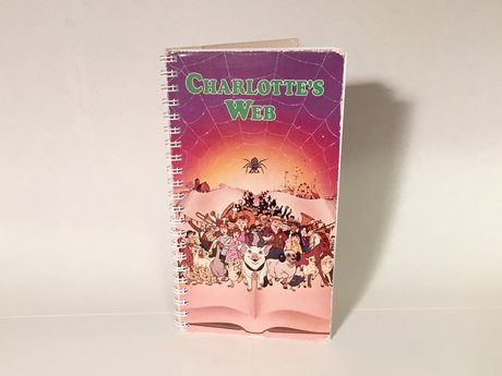VHS Box Notebook Charlotte's Web