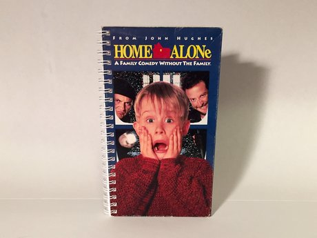 VHS Box Notebook Home Alone