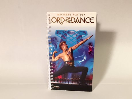 VHS Box Notebook Lord of the Dance