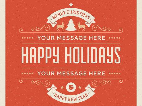 Christmas/Holiday Card Design
