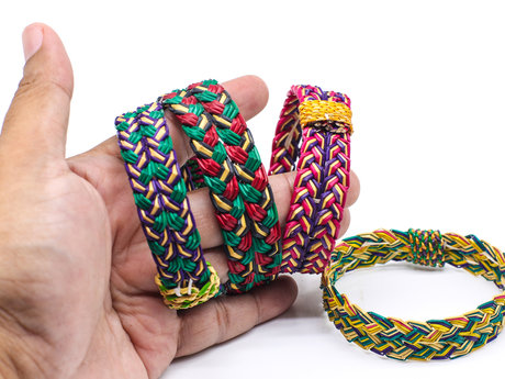 Handcrafted hemp jewelry!