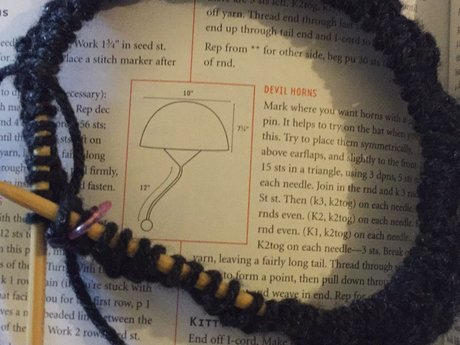 Knit pattern tester (and Corchet!)