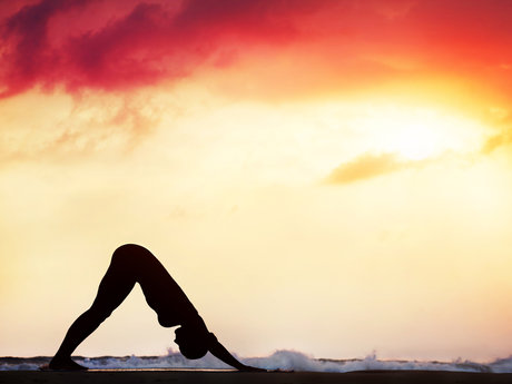 1 hour Iyengar yoga class
