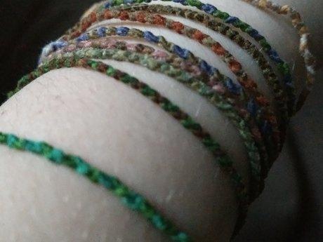 Custom Happy Bracelets!
