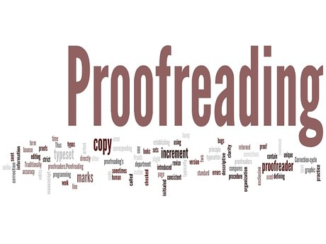 Proofreading/ Editing