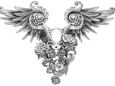 Tattoos professionally designed and