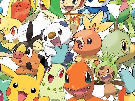 Paint your favorite pokemon