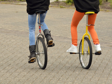 Unicycle Lessons