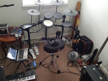 Studio metal drumming on your track
