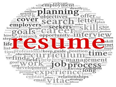 Resume Writing, Editing, Advice