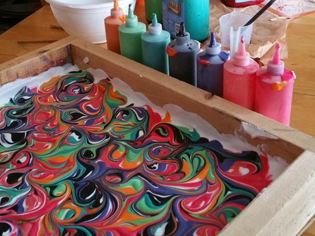 Learn to Swirl Dye