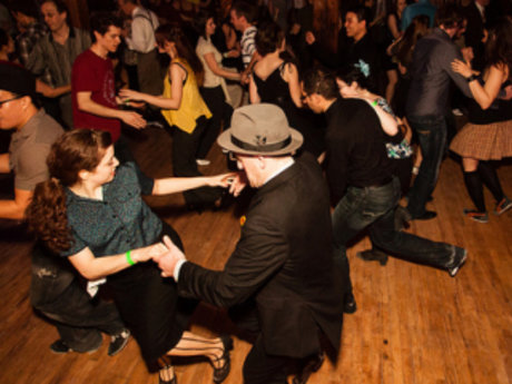 East Coast Swing Dance Lesson