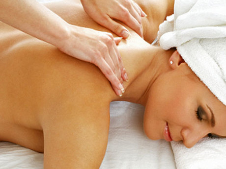 60 minutes of massage therapy!