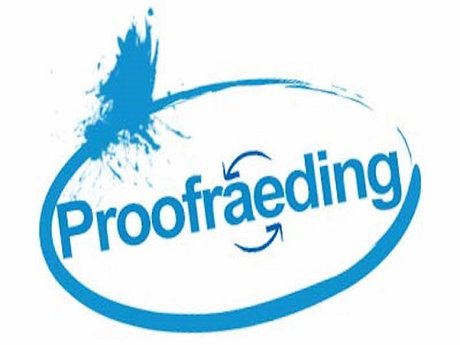 Proofreading (9 typed page max)