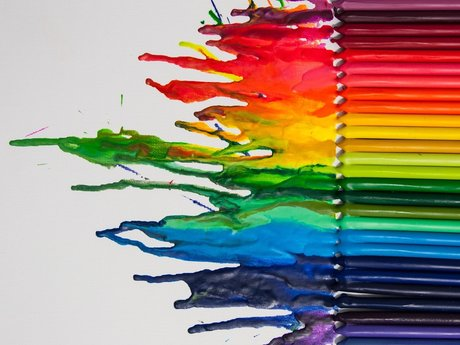 Crayon Wax Art