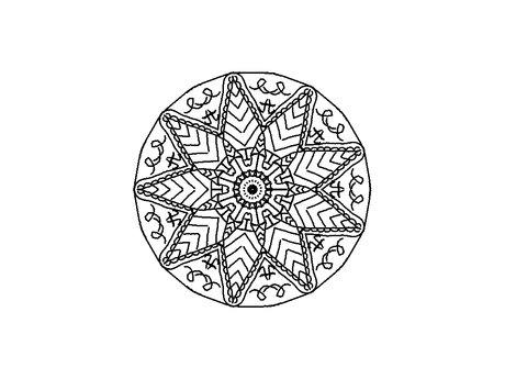 Draw your energy mandala