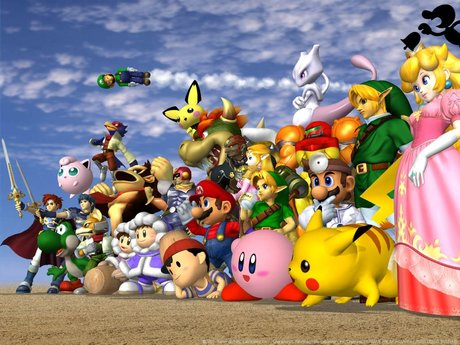 Super Smash Brothers Melee Training